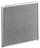 "Rittal 3286310 Aluminum Metal Filter for Air Conditioners, 7-57/64"" Width x 10-25/64"" Height x 25/64"" Depth"