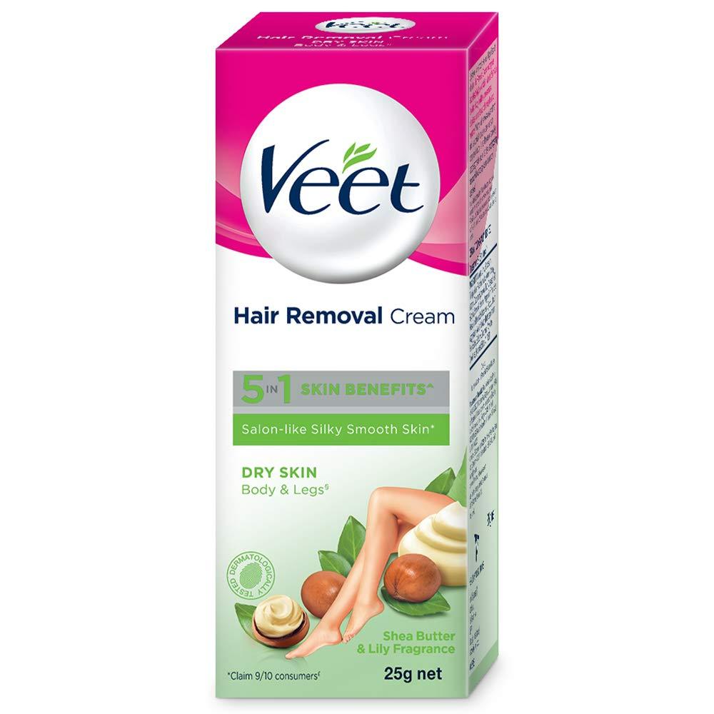 Veet Silk Fresh Hair Removal Cream Dry Skin 25 G Buy Online In