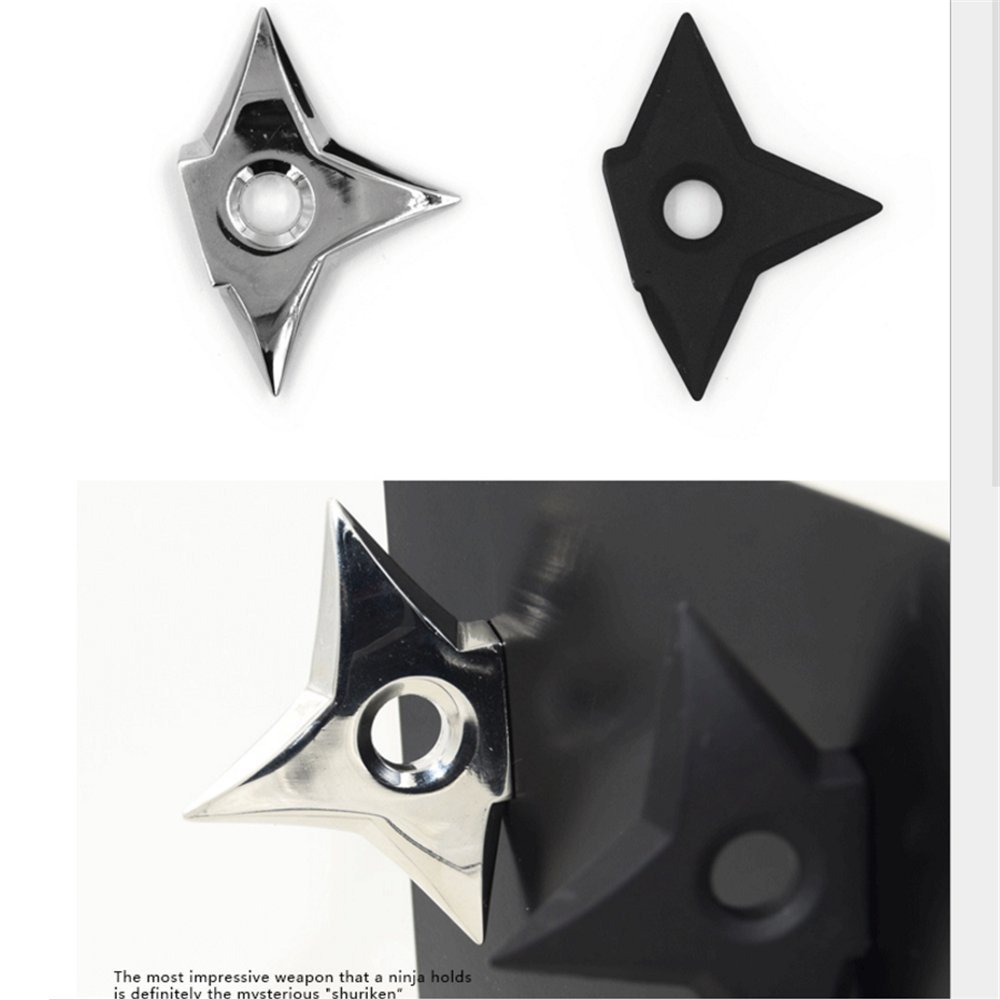 youthgo 2 Ninja Shuriken imanes Cool Throwing Star imanes ...