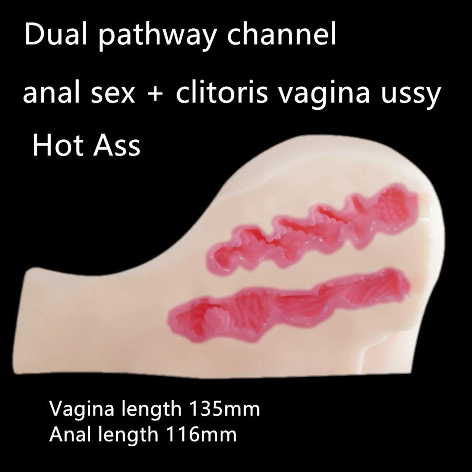 Realistic Sex Dolls Big Ass Pussy Sex Toys for Men Real Adult Doll Hot Ass Anal Sex+ Clitoris Vagina Pussy Lifelike Hip by Dayed Sex Shop (Image #2)