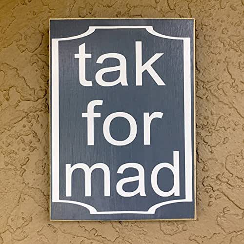 Amazon.com: Tak For Mad 8x10 (Choose Color) Dutch Rustic