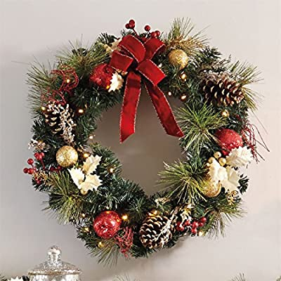 Brylanehome Cordless Led Wreath