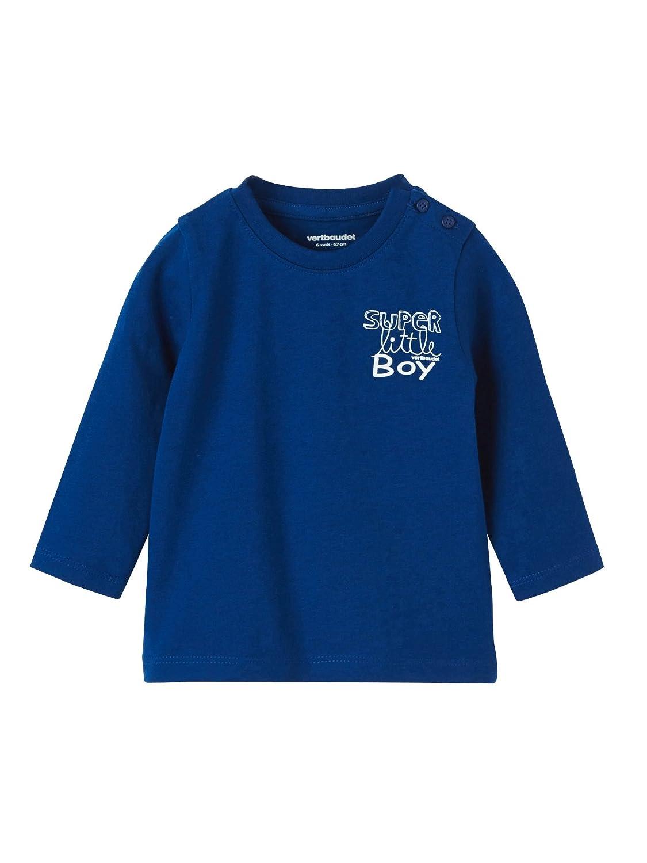 Vertbaudet Happy Price Bedrucktes Babyshirt für Jungen