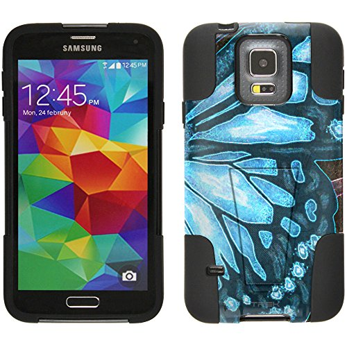 samsung-galaxy-s5-hybrid-case-butterfly-wing-blue-2-piece-style-silicone-case-cover-with-stand-for-s