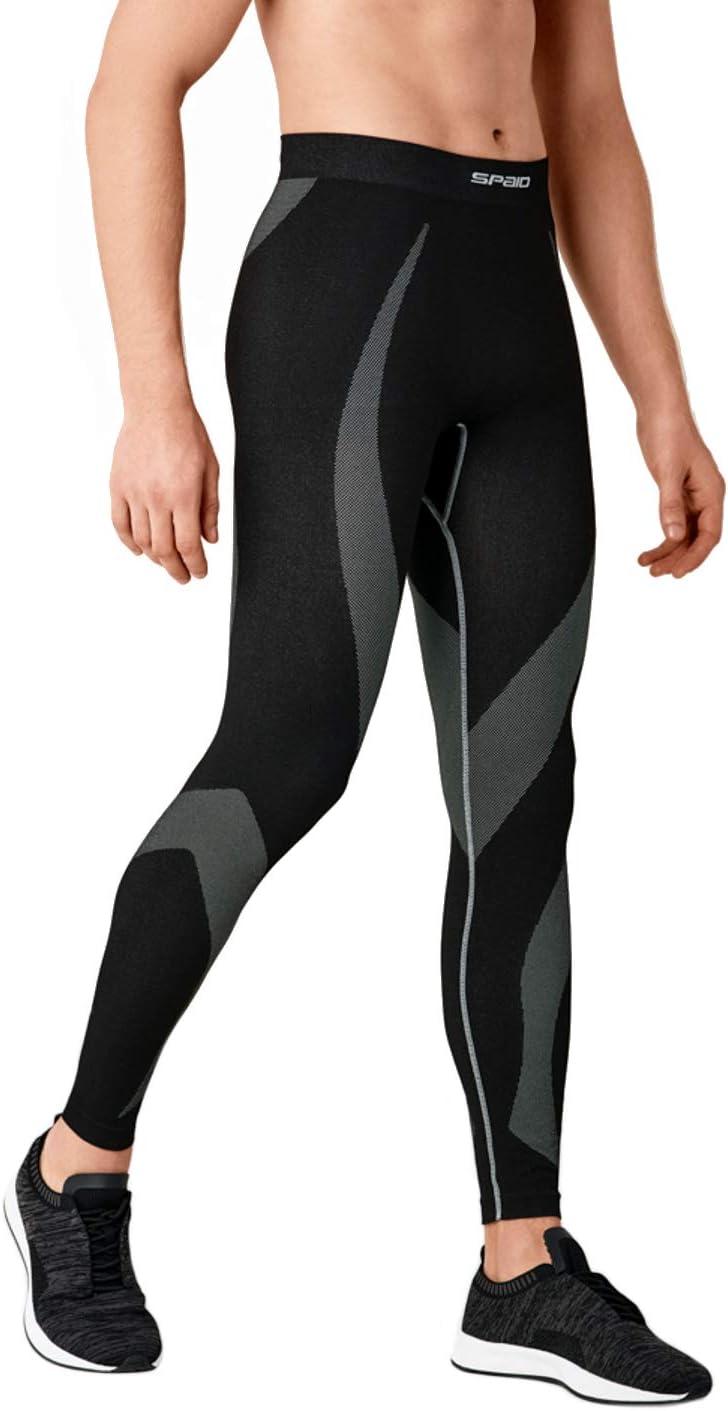 suave esqu/í Ropa funcional para hombre ropa t/érmica Spaio transpirable y costuras planas para moto