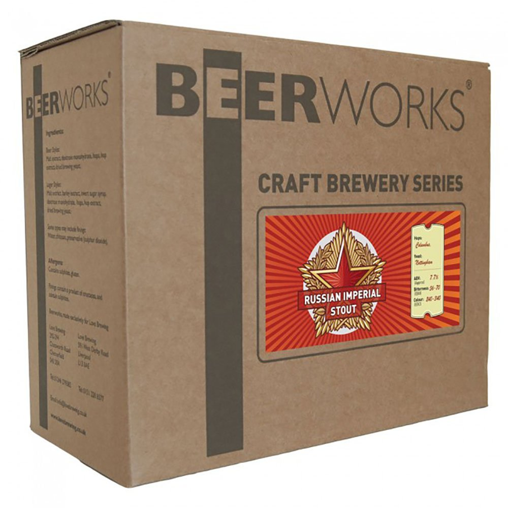 Beerworks Craft Brewery Series Russian Imperial Stout - Home Brew Beer Kit