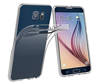 PREMYO Transparente Funda Protectora Compatible con Samsung ...