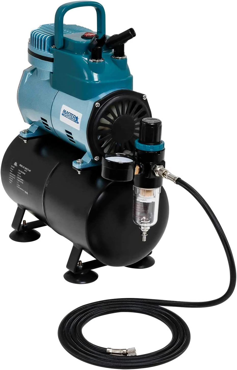 Master Airbrush Model TC-40T Cool Runner Airbrush Compressor