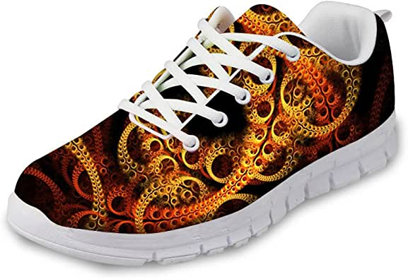 Zapatillas de Deporte para Hombre, Zapatillas para Correr, Calzado para Calle, Calcetines, Pescado, Animales, Estampado, Modernas, Transpirables: Amazon.es: Zapatos y complementos