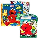 Best Sesame Street Friends Sticker Books - Sesame Street Elmo ABC Book Super Set Review