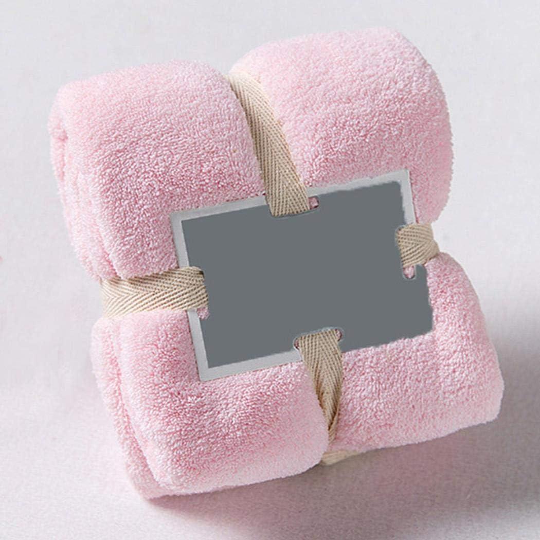 PioleUK Serviette de bain absorbante superbe douce superbe color/ée solide /à la maison de salle de bains Serviettes de toilette