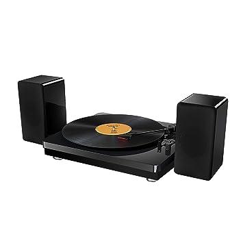 Amazon.com: yenock 3 velocidad Tocadiscos estéreo con dos ...