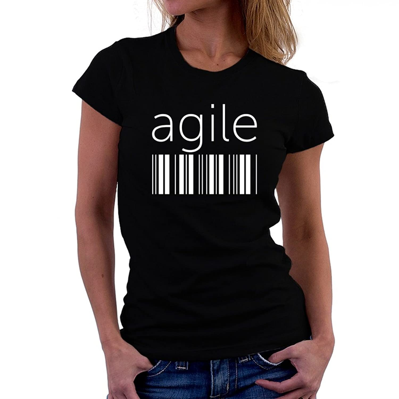 agile barcode Women T-Shirt