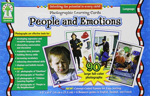 Carson Dellosa People and Emotions Photographic Learning Cards Boxed Set (D44044)