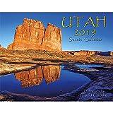 Utah 2019 Deluxe Wall Calendar