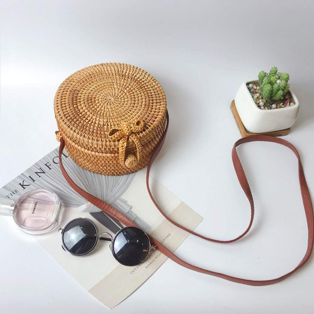 Ldyia Rattan-Tasche Kurierbeutelstrohbeutelbambuskorbbeutelspinnende Handtaschen-Reiseferien Handtaschen-Reiseferien Handtaschen-Reiseferien B07QKN73K7 Ruckscke Empfohlen heute a1aabd