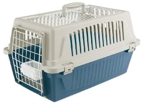 Ferplast - Transportin para Perros y Gatos + Accesorios Atlas 20 Open