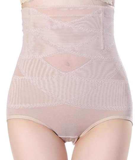 8efe10b567c06 Lutratocro Women s Body Shaper No Muffin Top Underpants Tummy Control High  Waist 3-Pack Shapewear