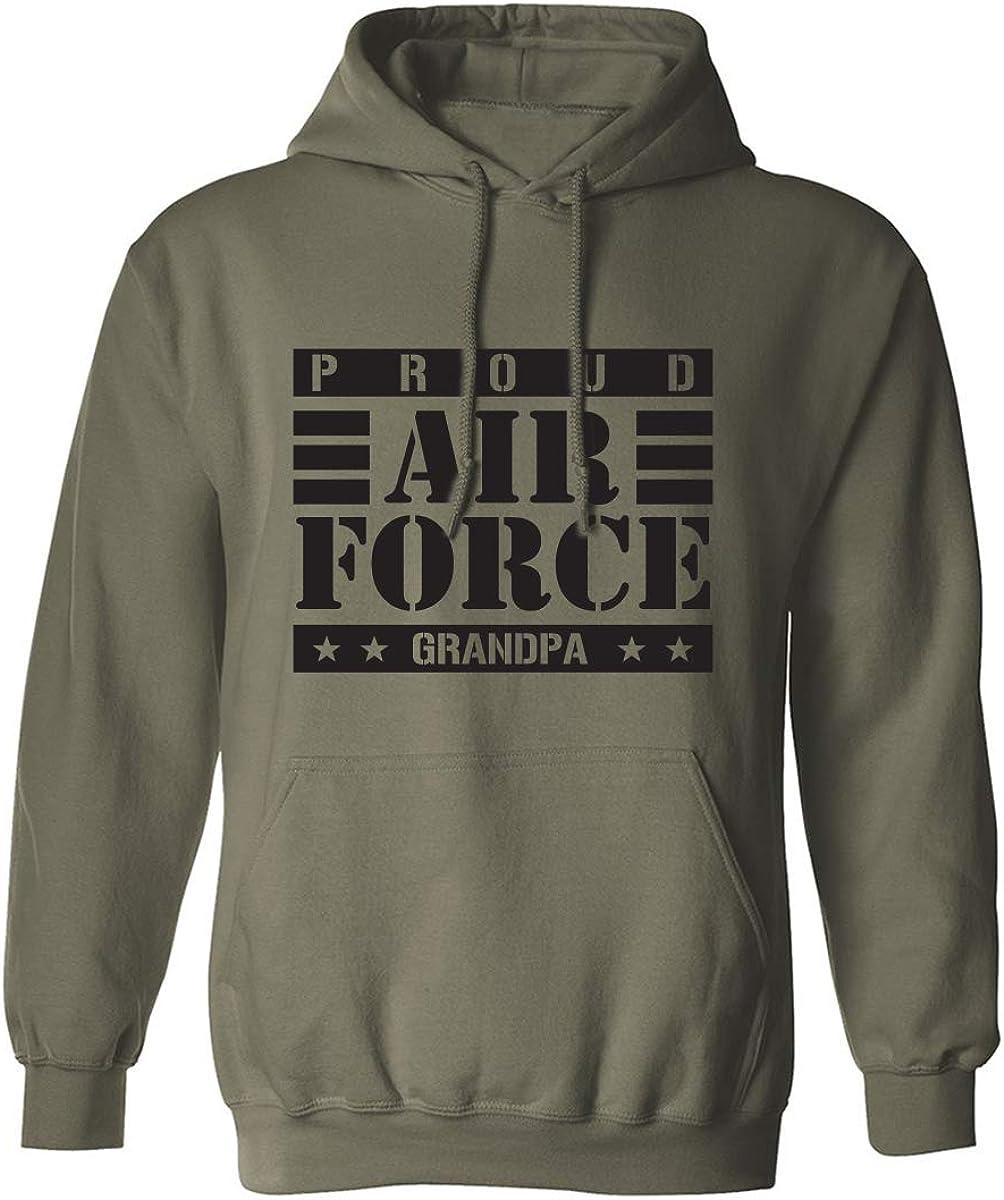 Proud Air Force Grandpa Adult Hooded Sweatshirt