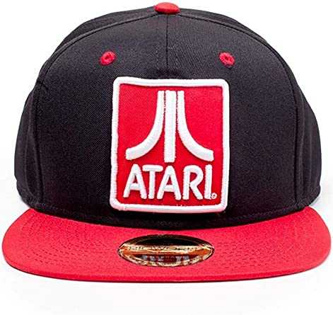 Difuzed Atari Embroidered Logo Badge Snapback Baseball Cap Gorra ...