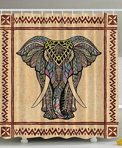 Elephant Bohemian Celestial Traditional Polyester