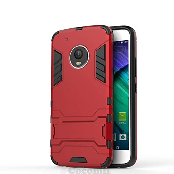 super popular a6adc 8fc17 Cocomii Iron Man Armor Motorola Moto G5 Plus Case NEW [Heavy Duty] Premium  Tactical Grip Kickstand Shockproof Hard Bumper [Military Defender] Full ...