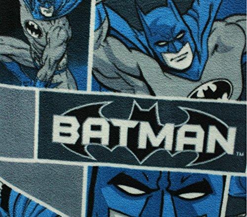 Fleece Fabric Printed Anti Pill DC Comics Batman Classic Licensed]()