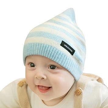 Baby Strick Beanie Hut - Kleinkind Kinder Häkeln Streifen Warm Caps ...