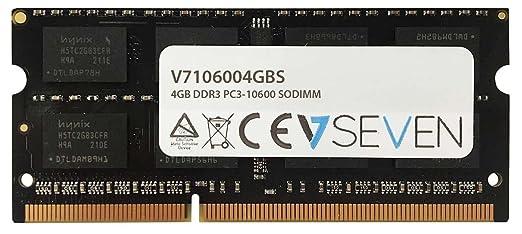 14 opinioni per V7 V7106004GBS Notebook DDR3 SO-DIMM Modulo di memoria 4GB (1333MHZ, CL9,