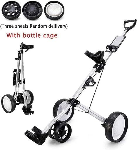 Biddtle Portátil Push Cart Carro De Golf Marco Aleación De ...