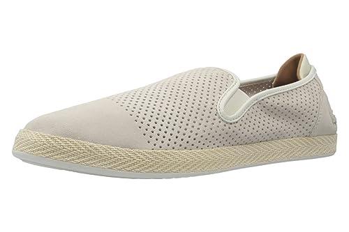 Lacoste - Tobillo bajo Hombre, Color Blanco, Talla 51 EU: Amazon.es: Zapatos y complementos