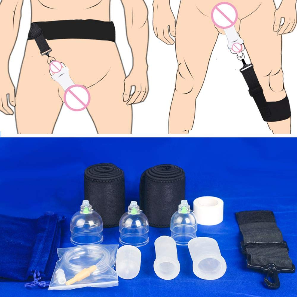 Maclea Penis Enlargement Tension Exercise Device,Extender Physical Penis Pump Enlarger Stretcher,proextender Enhance Penis Extender,S M L