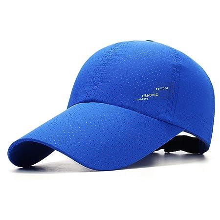 sdssup Sombrero de los Hombres Visera de Moda de Verano Protector ...