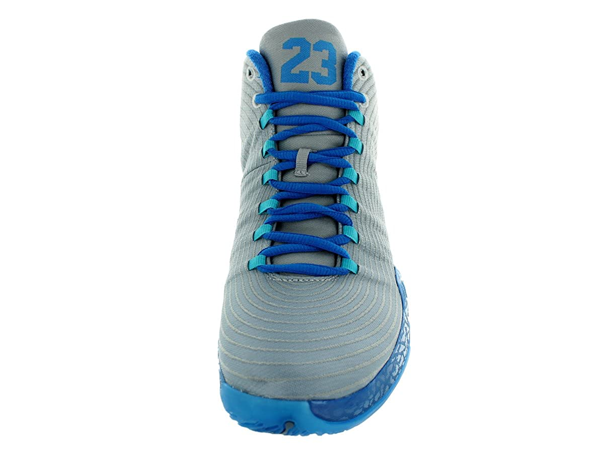 43cec690206 Amazon.com | Jordan Nike Men's Air XX9 Playoff Pack White/Cool Blue/PHT  Bl/Trqs Bl Basketball Shoe 9.5 Men US | Basketball