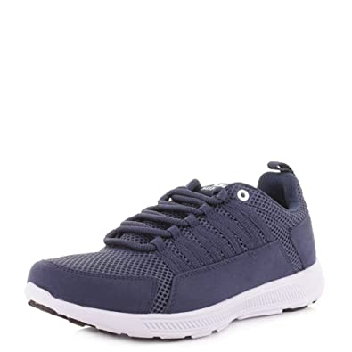 95f8f112c9dc Mens Supra Owen Navy White Lightweight Running Style Fashion Trainers SIZE  12  Amazon.co.uk  Shoes   Bags