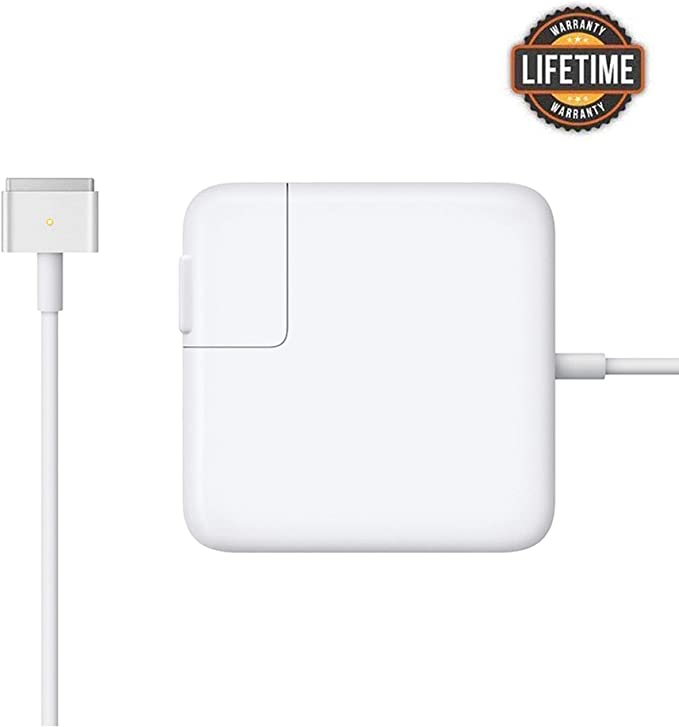 Mac Book Air Charger, Great Replacement 45W Magsafe 2 Magnetic T-Tip Power Adapter Charger for MacBook Air 11-inch and 13-inch (Mid 2012 or Later) … ...