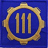 postal service patch - Vault 111 Fallout Style Patch Cosplay Velcro 3