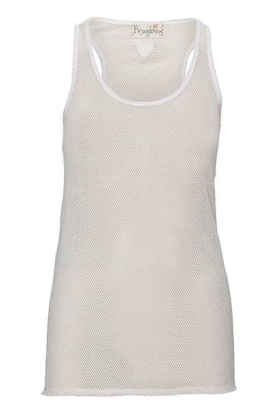 2fd56df75276 Frogbox Damen Shirt Top MESH, Farbe  Rosa, Größe  34  Amazon.de  Bekleidung