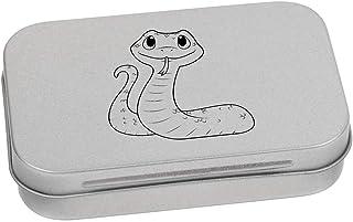Azeeda 95mm 'Simpatico Serpente' Contenitore Tin / Scatola di Latta (TT00080072)