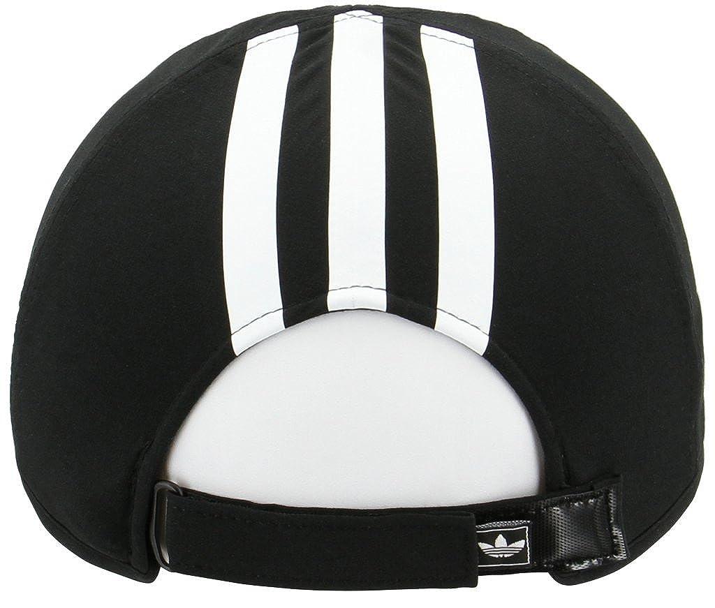 6cbab35d Amazon.com: adidas Women's Originals Trainer II Relaxed Cap, Black/White, One  Size: Clothing