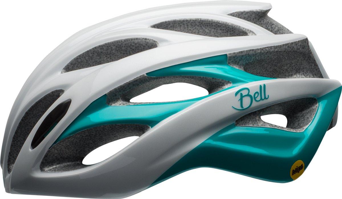 BELL Endeavor MIPS Damen Rennrad Fahrrad Helm weiß grün 2017