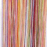 Strip Curtains Tangpan 7 Color Colorful Door String Thread Fringe Window Panel Room Divider Curtain Strip Tassel