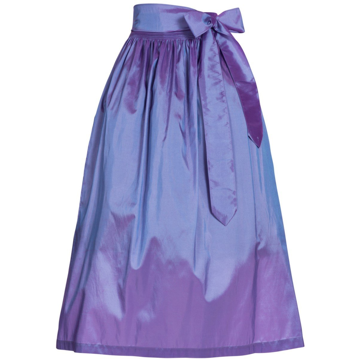 Country Line Damen Trachten-Mode Dirndlschürze in Lila Traditionell Größe:M Farbe:Lila