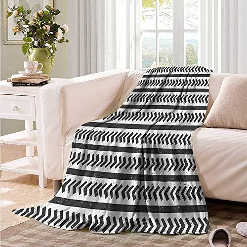 (Oncegod Couch Blanket Geometric Stripes Arrow Shapes Recliner Throw,Couch Throw, Couch wrap 80
