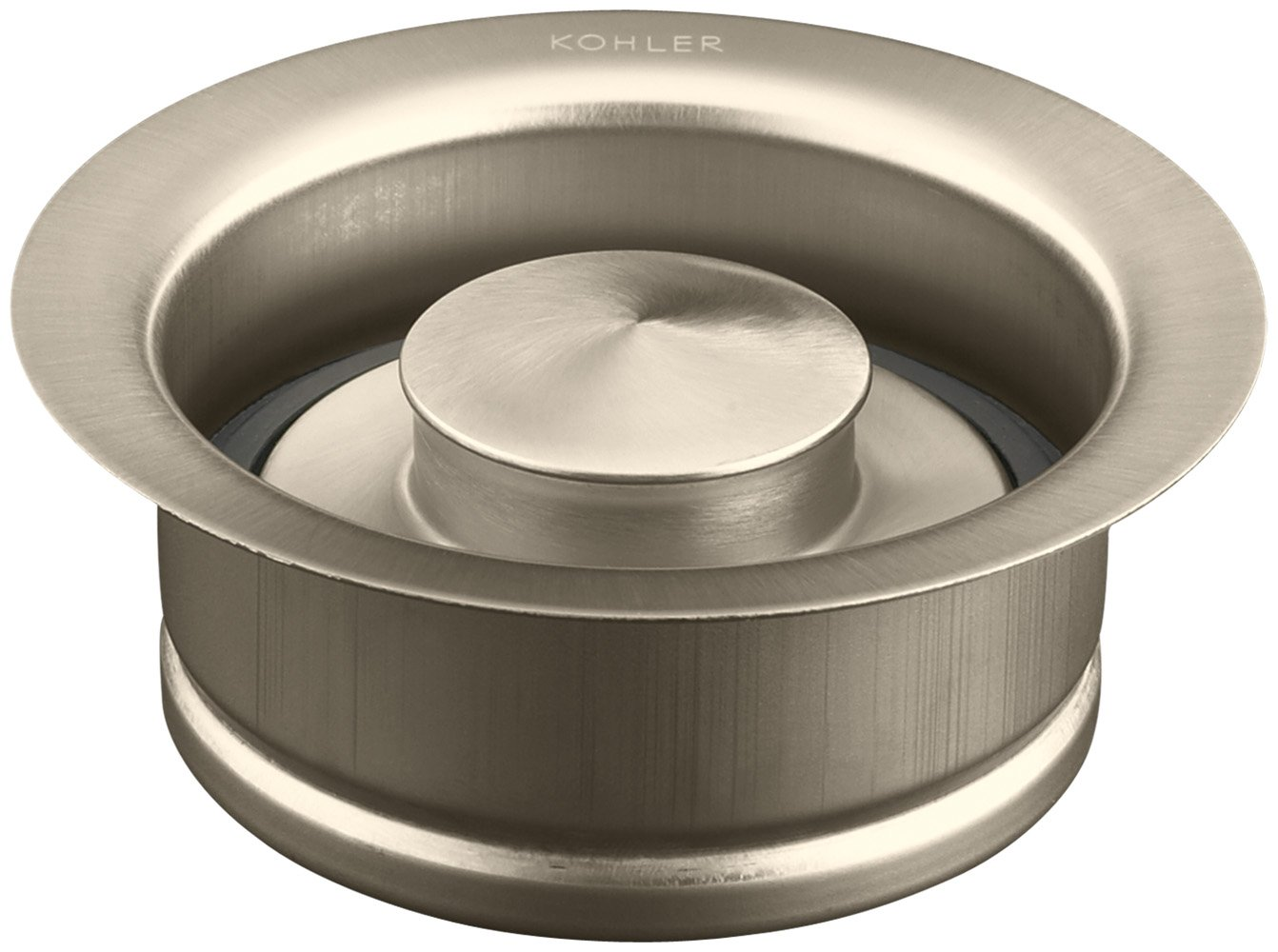 KOHLER K-11352-BV Disposal Flange, Vibrant Brushed Bronze by Kohler