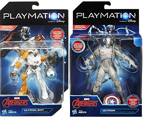 Child Rocket Raccoon Gloves (Playmation Marvel Villains Playmation Marvel Avengers Super Ultron Bot Villain + Playmation Marvel Avengers Ultron Deluxe Smart Figure 2-pack)