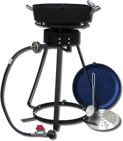 King Kooker 22PKPTC 20-Inch Propane Outdoor Cooker with 6-Quart Cast Iron Pot