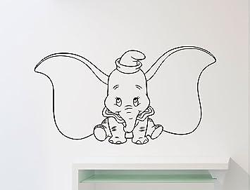 Dumbo éléphant Mur En Vinyle Disney Dessin Animé Flying Elephant
