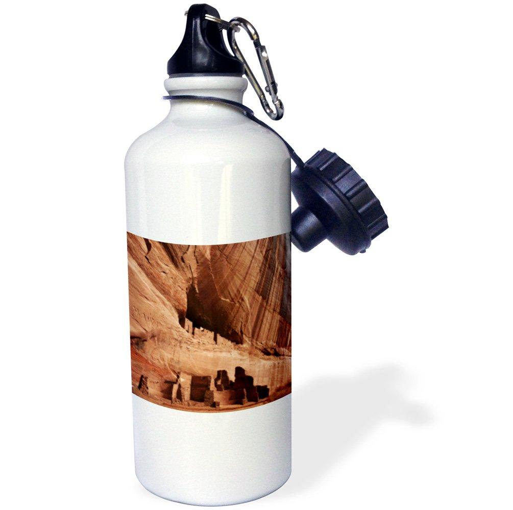 USA US03 MHE0007 Michel Hersen Sports Water Bottle 21 oz White Canyon de Chelly 3dRose wb/_142463/_1House Ruin Arizona