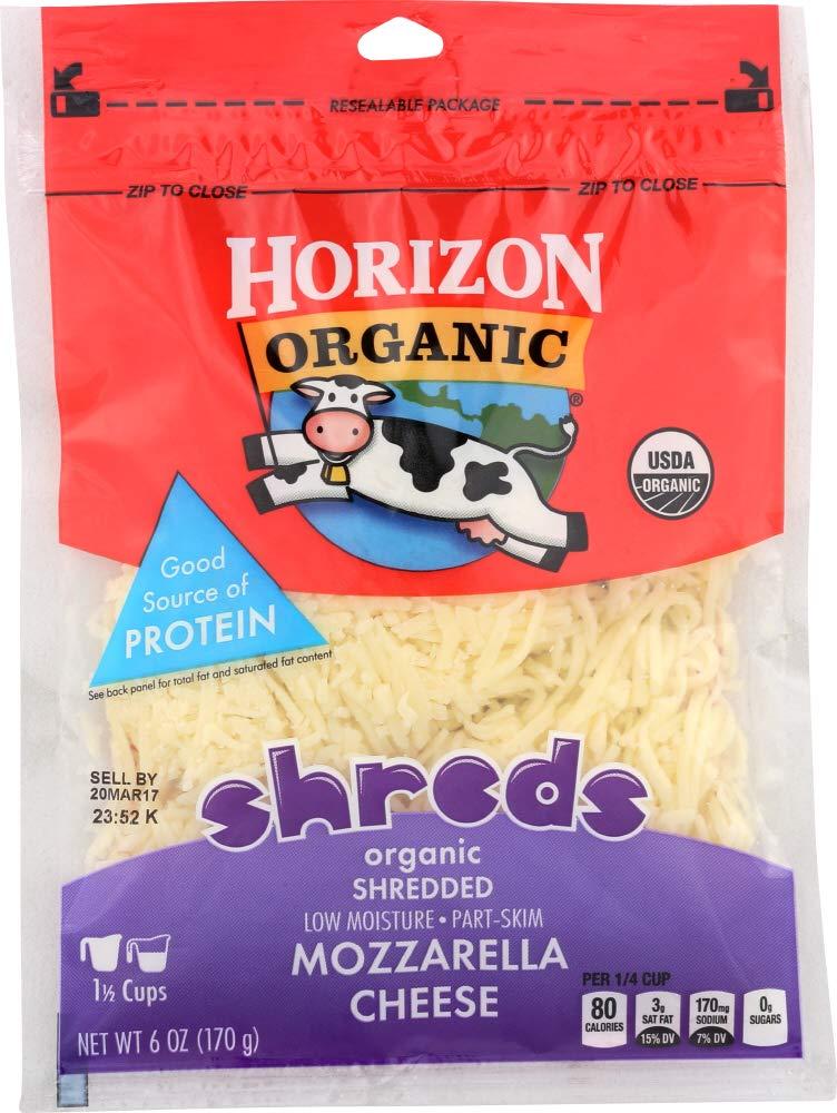 Horizon (NOT A CASE) Organic Shredded Mozzarella Cheese